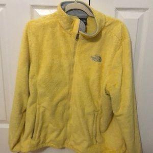 North face yellow osito jacket XL